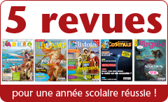 6 revues jeunesses