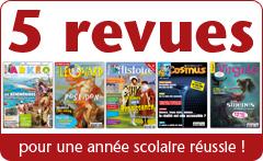 5 revues jeunesses