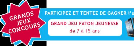 Grand concours FATON JEUNESSE