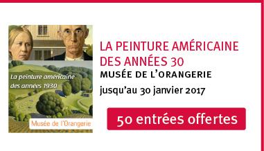 Exposition peinture américaine