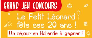 Mini bannière concours LEO anniversaire