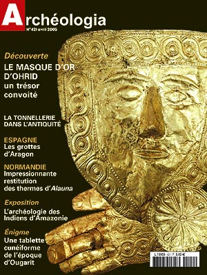 Le masque d'or d'Ohrid