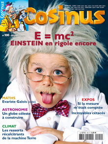 E = mc2 Einstein en rigole encore