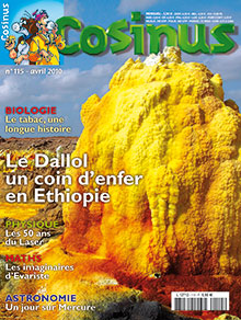 Le Dallol, un coin d'enfer