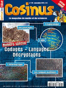 SPECIAL codages - langages - décryptages